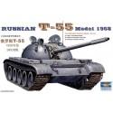 Модель танка Т-55, 1958 год (1:35)