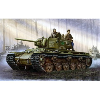 Модель танка КВ-1, модель 1942 г.