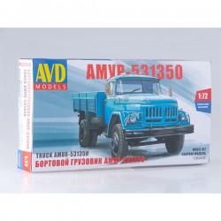 AVD Models 1290AVD Сборная модель автомобиля бортовой грузовик АМУР-531350 (1:72)