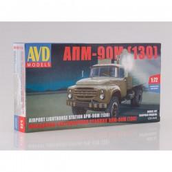 AVD Models 1291AVD Сборная модель автомобиля посадочно-светомаячная станция АПМ-90М (ЗИЛ-130) (1:72)