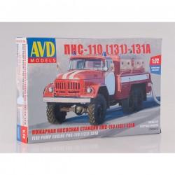AVD Models 1293AVD Сборная модель автомобиля ПНС-110(131)-131А (1:72)