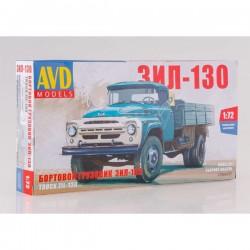 AVD Models 1296AVD Сборная модель автомобиля бортовой грузовик ЗИЛ-130 (1:72)
