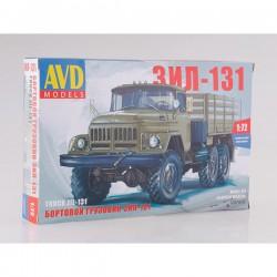 AVD Models 1297AVD Сборная модель автомобиля бортовой грузовик ЗИЛ-131 (1:72)