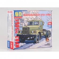 AVD Models 1317AVD Сборная модель автомобиля седельный тягач КРАЗ-258Б1 (1:43)