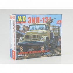 AVD Models 1319AVD Сборная модель автомобиля бортовой ЗИЛ-131 (1:43)