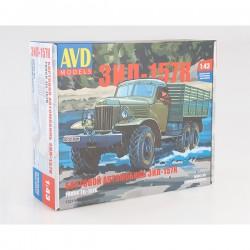 AVD Models 1321AVD Сборная модель автомобиля бортовой ЗИЛ-157К (1:43)