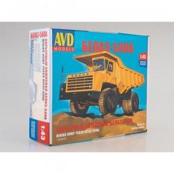 AVD Models 1330AVD Сборная модель автомобиля карьерный самосвал БЕЛАЗ-540А (1:43)