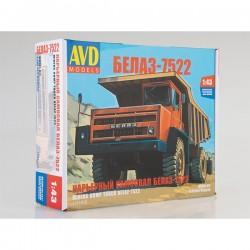 AVD Models 1331AVD Сборная модель автомобиля карьерный самосвал БЕЛАЗ-7522 (1:43)