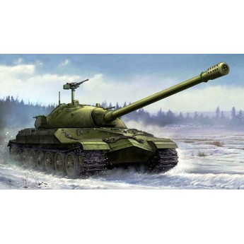 Модель советского тяжелого танка ИС-7.