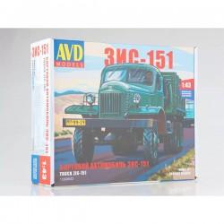 AVD Models 1332AVD Сборная модель автомобиля бортовой ЗИС-151 (1:43)