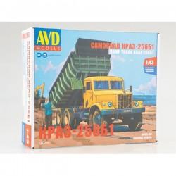 AVD Models 1342AVD Сборная модель автомобиля самосвал КРАЗ-256Б1 (1:43)