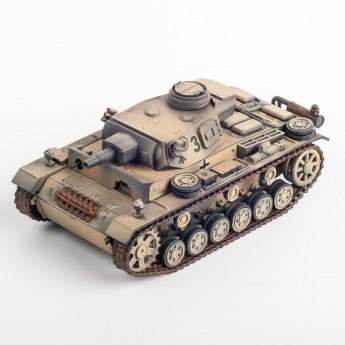 Модель танка Panzer III Ausf. N, Немецкий Африканский корпус, 1943 г.