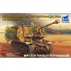 Bronco Models CB35004 Сборная модель танка САУ 7.5 cm PaK40(SF) auf Geschutzwagen 39(f) (1:35)