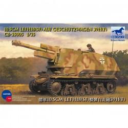 Bronco Models CB35005 Сборная модель танка САУ 10.5cm leFH18(SF) auf Geschutzwagen 39H(F) (1:35)