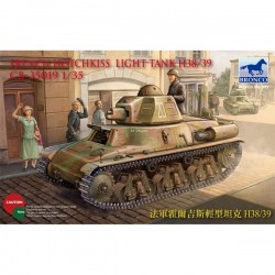Bronco Models CB35019 Сборная модель танка French Hotchkiss H38/39 Light Tank (1:35)