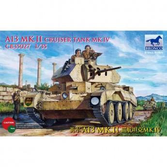 Bronco Models CB35027 Сборная модель танка A13 Mk.II Cruiser Tank Mk.IV (1:35)