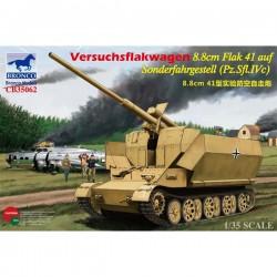 Bronco Models CB35062 Сборная модель САУ Versuchsflakwagen 8.8cm Flak 41 auf Sonderfahrgestell (1:35)