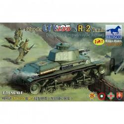 Bronco Models CB35105 Сборная модель танка Skoda LT Vz35 & R-2 Tank (2 in 1) (1:35)