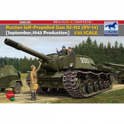 Bronco Models CB35109 Сборная модель САУ Heavy Self-Propelled Gun SU-152 (KV-14) (1:35)