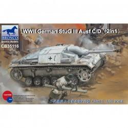 Bronco Models CB35116 Сборная модель САУ StuG III Ausf C/D (1:35)