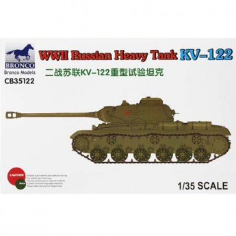 Bronco Models CB35122 Сборная модель танка Heavy Tank KV-122 (1:35)