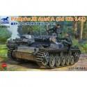 Bronco Models CB35134 Сборная модель танка Pz.Kpfw. III Ausf. A (Sd Kfz 141) (1:35)