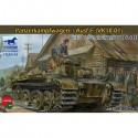 Bronco Models CB35143 Сборная модель танка Panzerkampfwagen I Ausf.F (VK18.01) (1:35)