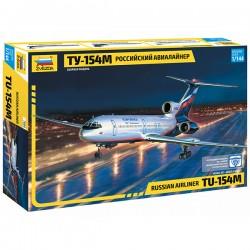 Звезда 7004 Сборная модель самолета Ту-154 (1:144)
