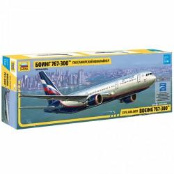 Звезда 7005 Сборная модель самолета Боинг 767-300 (1:144)