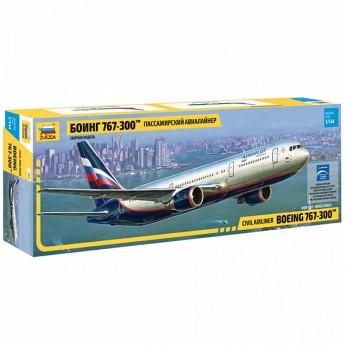 Модель самолета Боинг 767-300 (1:144)
