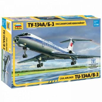 Модель самолета Ту-134А/Б-3 (1:144)