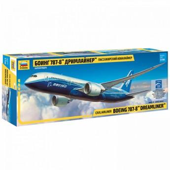 """Модель самолета Боинг 787-08 """"Дримлайнер"""" (1:144)"""