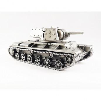 HeavyMetal.Toys Модель танка КВ-1Э из металла без подставки (1:72)