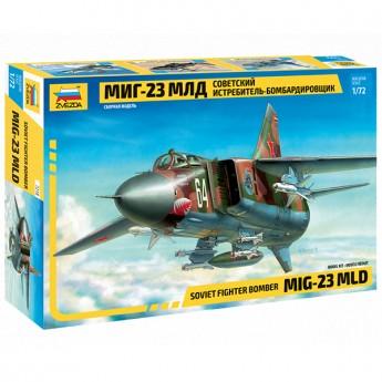 Звезда 7218 Сборная модель самолета МиГ-23МЛД (1:72)