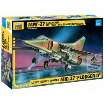 Звезда 7228 Сборная модель самолета МиГ-27 (1:72)