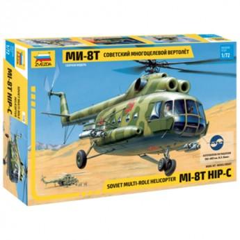 Звезда 7230 Сборная модель вертолета Ми-8 (1:72)