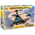 """Звезда 7232 Сборная модель вертолета Ка-58 """"Черный призрак"""" (1:72)"""