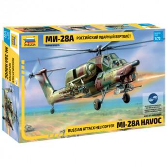 Звезда 7246 Сборная модель вертолета Ми-28 (1:72)