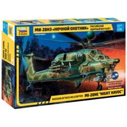 Звезда 7255 Сборная модель вертолета Ми-28Н (1:72)
