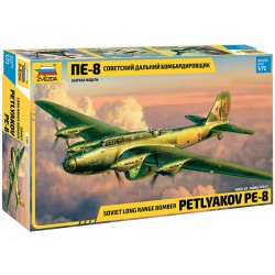 Звезда 7264 Сборная модель самолета Пе-8 (1:72)