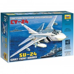 Звезда 7265 Сборная модель самолета Су-24 (1:72)