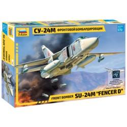 Звезда 7267 Сборная модель самолета Су-24М (1:72)