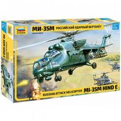 Звезда 7276 Сборная модель вертолета Ми-35М (1:72)