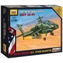 Звезда 7408 Сборная модель вертолета Апач (1:144)