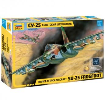 Звезда 7227 Сборная модель самолета Су-25 (1:72)