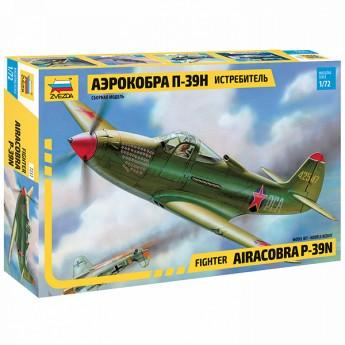 """Звезда 7231 Сборная модель самолета """"Аэрокобра"""" (1:72)"""