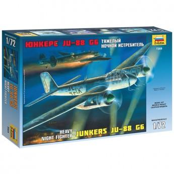 Звезда 7269 Сборная модель самолета Ju-88G6 (1:72)