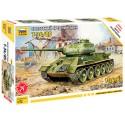 Звезда 5039 Сборная модель танка Т-34/85 (1:72)