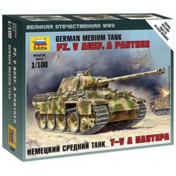 """Звезда 6196 Сборная модель немецкого танка """"Пантера"""" (1:100)"""