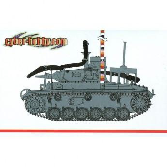 "Модель танка Pz.Kpfw.III (3.7cm) (T) Ausf.F ""OPERATION SEELWE"""